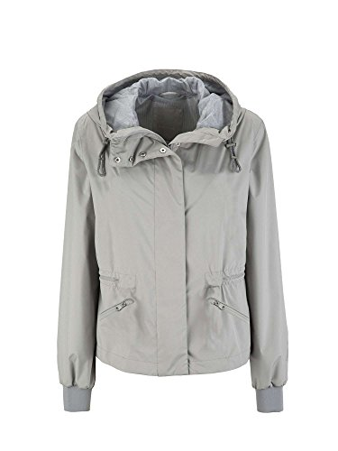Geox Damen Mantel Woman Jacket Grau cG4oGs
