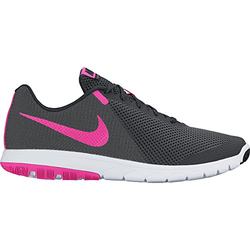 Nike Womens Flex Experience RN 5 Wide Running Shoe Anthracite/Pink Blast/Black Size 10 M US