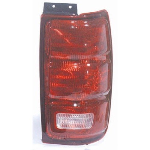 Go-Parts ª OE Replacement for 1997-2002 Ford Expedition Rear Tail Light Lamp Assembly/Lens/Cover - Right (Passenger) Side F75Z 13404 AC FO2801119 for Ford Expedition