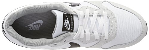 2 Femme MD Cassé Runner Wolf Mode Baskets White Blanc Black 100 NIKE Grey w1fpq