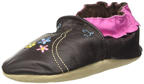 Jack & Lily Originals Rodeo - Zapatillas de piel super divertidas y coloreadas, talla 18-24 meses, multicolor