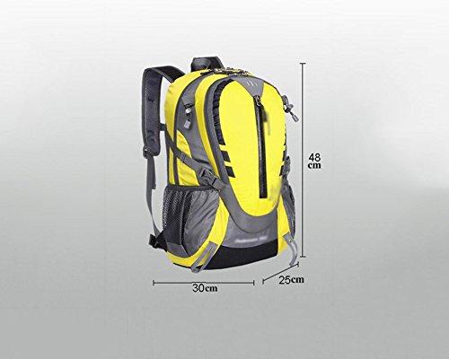 HWLXBB Outdoor Bergsteigen Tasche Männer und Frauen 32L Wasserdichte Licht Mehrzweck-Bergsteigen Tasche Wanderung Berg Bergsteigen Rucksack ( Farbe : 5* )