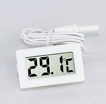 Digital termómetro sonda Acuario Nevera Sauna congelador coche ...