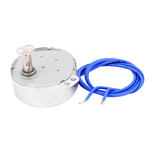 Uxcell a16010600ux0084 CCW/CW Direction 4W 50/60Hz Frequency 5-6RPM Synchronous Motor AC 100-127V ()