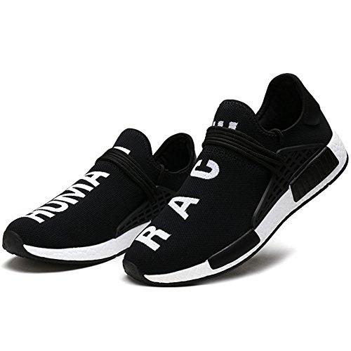 Wealsex Entraînement Running Leger Noir Mesh Lacets Fitness Femme Course Sport Sans Basket Confortable Homme Respirant Chaussure Unisexe rzf4rq