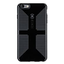 Speck Products CandyShell Grip Case for iPhone 6 Plus/6S Plus - Black/Slate Grey
