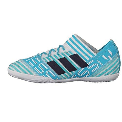 adidas Unisex-Kinder NEMEZIZ Messi Tango 17.3 in J Futsalschuhe, Schwarz Verschiedene Farben (Ftwbla / Tinley / Azuene)