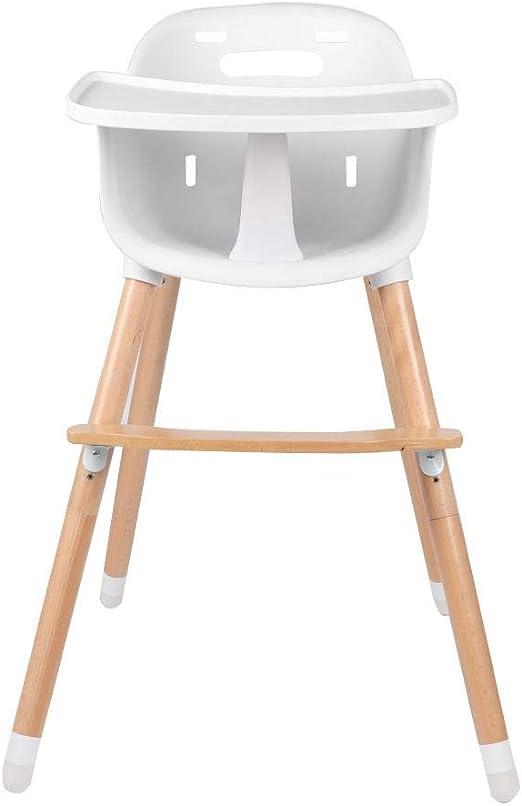 lyrlody Chaise Haute pour Bébé avec Plateau Amovible Chaise