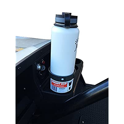 SMART KUP Car Cup Holder for Hydro Flasks 32 oz and 40 oz, Nalgene 32 oz and Other Large Bottles up to 3.8 inches Wide. 3 inch Upper Cup Will Hold Your Items Unlike The competitors.Mint: Automotive