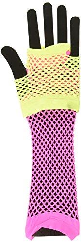 Forum Novelties 63027 Fishnet Fingerless Gloves (80s Group Costumes)