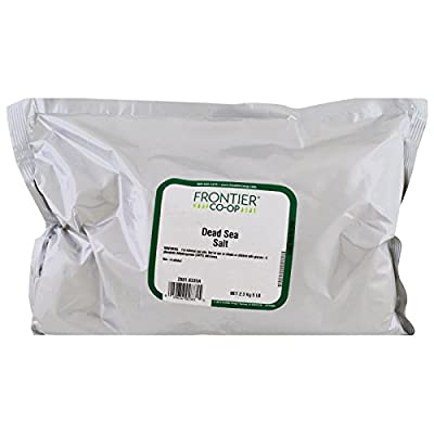Frontier Natural Products, Dead Sea Salt, 80 oz (2267 g) - 3PC