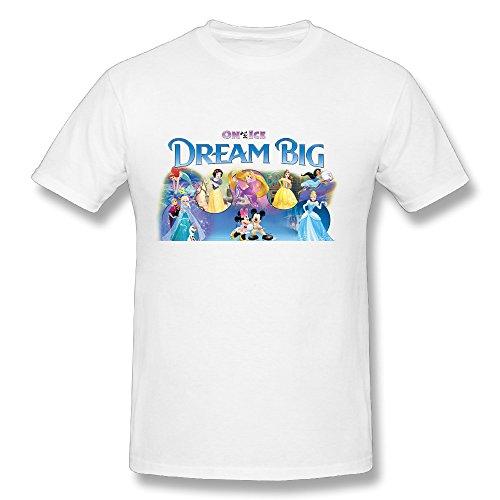 Hot Adult Disney On Ice Presents Dream Big Fan Logo T Shirt For Men