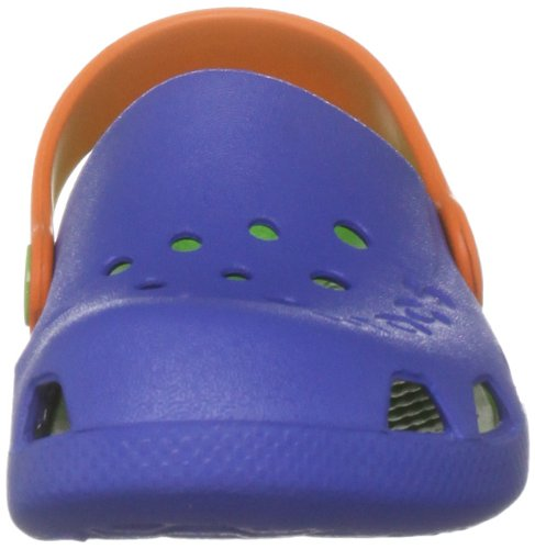 Blu Unisex sea Crocs Blue Electro lime bambini Zoccoli I8qTSZB