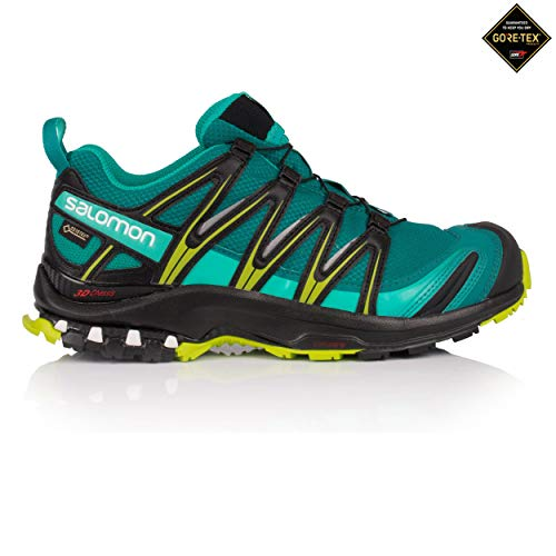Bleu Trail GTX Deep 3D Lake Femme Salomon 000 Black Bleu Lime XX XA Green de Pro Chaussures tBH8Y