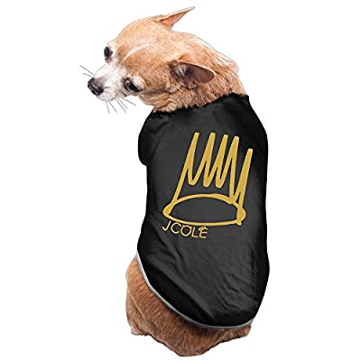 Pet J Cole Hiphop Logo Dog Coats Puppy Clothes