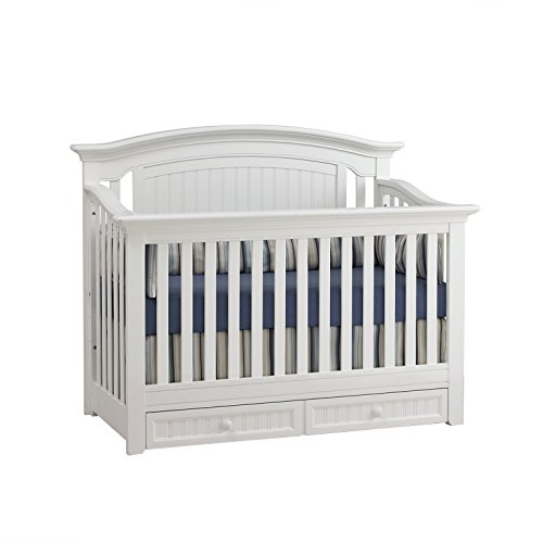 Suite Bebe Winchester 4-in-1 Convertible Crib White