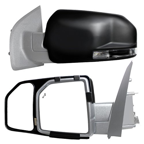 Fit System 81850 Snap and Zap Tow Mirror Pair (2015 and Up F150) ()