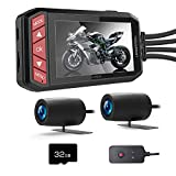 LANCERTECH Motorcycle Dash Cam 1080P FHD DVR Driving Recorder