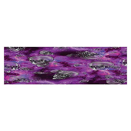 UHOO2018 Fish Tank Backdrop Static Cling Horror Movie