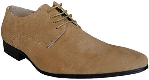 Galax Chaussures marron camel à intérieur cuir 2019c-camel - Taille 43