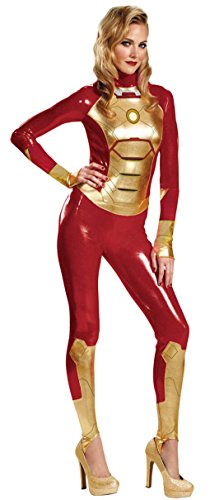 Pepper Potts Iron Man Mark 42 Adult Costume (XL) Red -