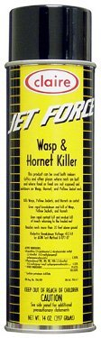 Claire C-005 14 Oz. Jet Force Wasp & Hornet Killer Aerosol Can (Case of 12) ()