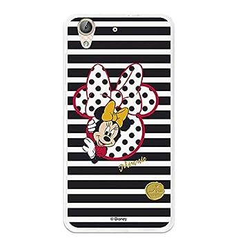 2f30bf10e0b La Casa de Las Carcasas Carcasa Oficial Disney Minnie, I Love Shoes Huawei  Y6 II: Amazon.es: Electrónica
