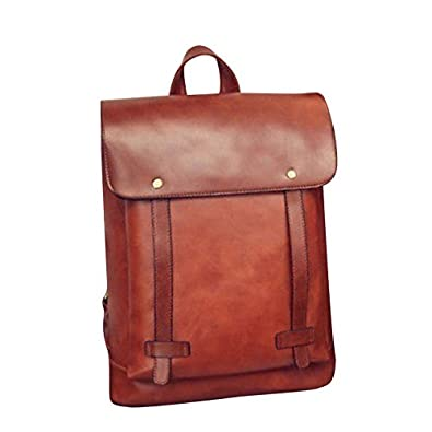 TOOGOO Fashion High Quality British Style PU Leather Backpack Women s  Vintage Travel Satchel Girl Laptop Rucksack 08c774e92b396