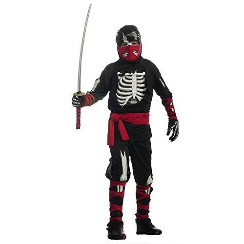Halloween Sensations Child's One Dead Ninja Costume, Medium