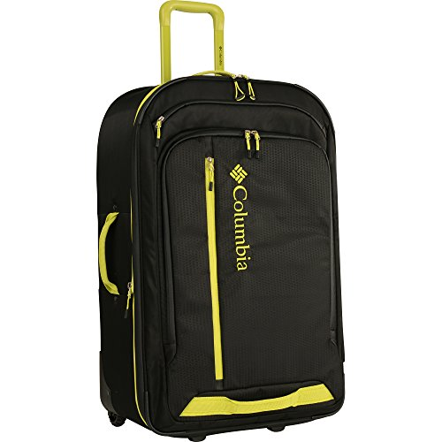 """Price comparison product image Columbia 28"""" Expandable Spinner Luggage,  Black"""