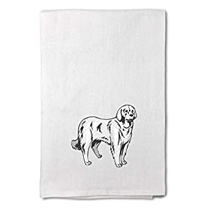 Style In Print Custom Decor Flour Kitchen Towels Akbash Pets Dogs Cleaning Supplies Dish Towels Design Only 13