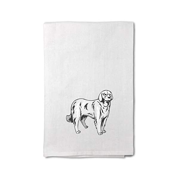 Style In Print Custom Decor Flour Kitchen Towels Akbash Pets Dogs Cleaning Supplies Dish Towels Design Only 1