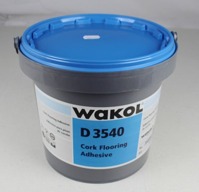WAKOL D 3540 Cork Flooring Adhesive 1 Gallon coverage 180 (Cork Flooring Glue)