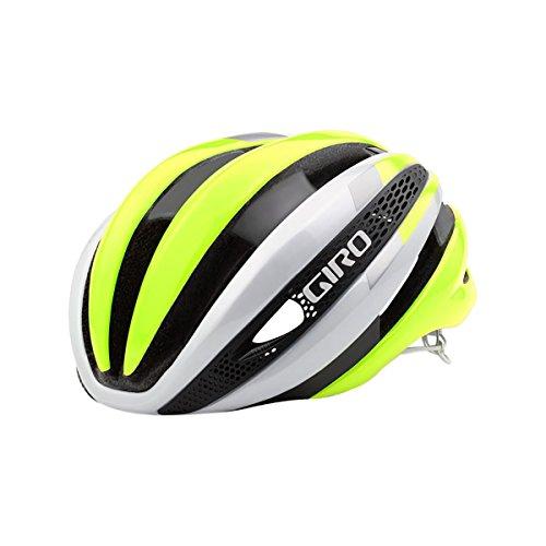 Giro Synthe Helmet White/Highlight Yellow, L For Sale