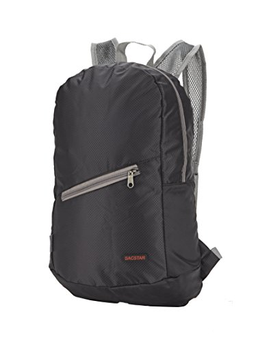 Pupsand más duradero Packable ligero Travel Travelpack mochila mochila(Negro) Negro