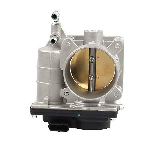 HOWYAA HYVE60E Electronic Fuel Injection Throttle Body Assembly Compatible 2007-2013 Nissan Altima 2.5L Replace# 16119-JA00A