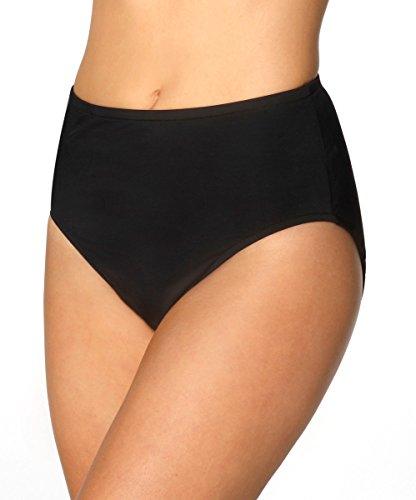 Miraclesuit Classic Swim Bottom, 12, Black