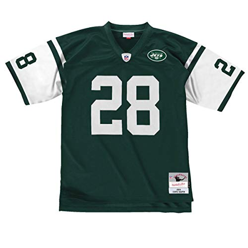 Mitchell & Ness Curtis Martin New York Jets Throwback Jersey Green (X-Large) ()