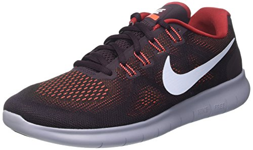 Free NIKE RN Black Hydrogen Blue Running Men's Red Shoe tough 1R5gqw