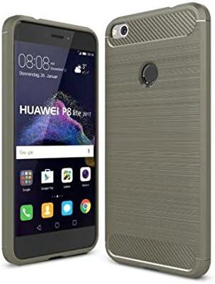 HuaWei P8 Lite(2017) Funda - Carbon fiber Soft Silicone Case ...