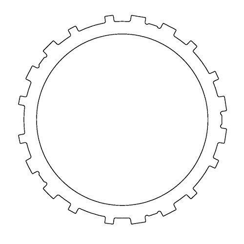 (Aftermarket 51K596 Steel, 3-4 Clutch (.106