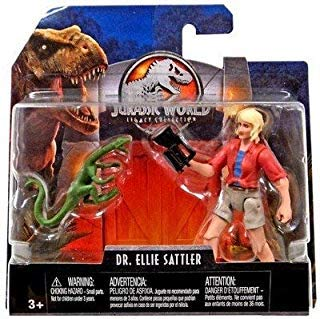 Dr. Ellie Sattler & Compie Jurassic World Legacy Collection Posable Figure 3.75