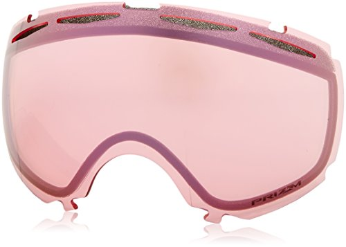 Oakley Men's Canopy Snow Goggle Replacement Lens, Large, Prizm Hi - Oakley Goggles Pink