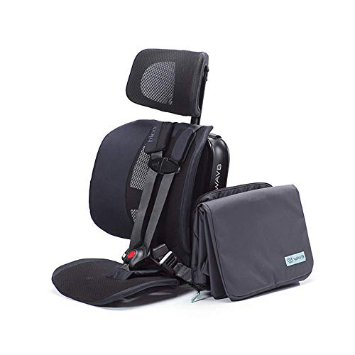 Fantastic Deal! WAYB Pico Travel Car Seat and Travel Bag Bundle - Portable Travel Car Seat
