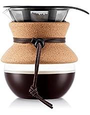 Bodum pour over koffiezetapparaat (permanente filter, vaatwasmachinebestendig)