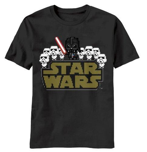 Star Wars Team Vader Herren Schwarz T-Shirt