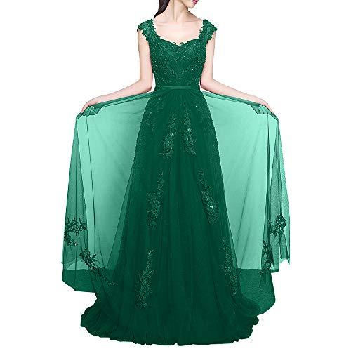 Abendkleider Jaeger Weinrot Braut Linie Traeger Marie Gruen Bodenlang Promkleider La Breit Spitze A Abiballkleider Damen Kleider qTYgw6