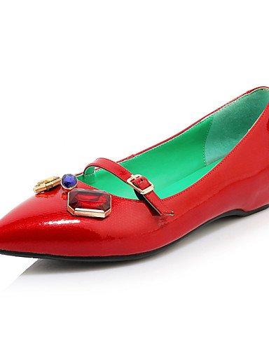 red Zapatos eu39 de uk6 Rojo Negro Tacones cn39 Tacón Trabajo cn39 Puntiagudos us6 red Bajo eu36 mujer GGX eu39 Cuero black us8 y uk6 Azul Oficina uk4 Blanco Tacones cn36 Casual us8 dT5wSd
