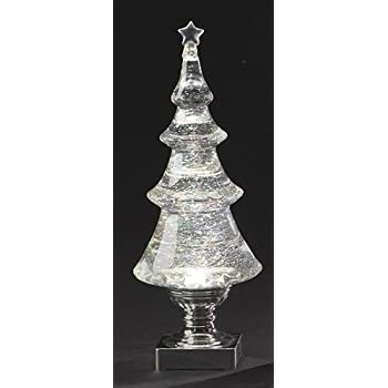 Amazon Com Roman Led Light Up Glitter Holiday Tree X Mas