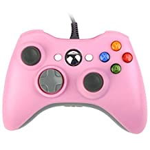 Wired Controller Gamepad Game Pad Pink for Xbox 360 xbox 360 Windows 7 Windows 8